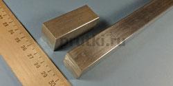 Квадрат алюминиевый Д16Т, ширина 20 мм