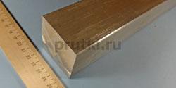 Квадрат алюминиевый Д16Т, ширина 50 мм