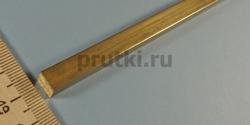 Квадрат латунный ЛС59-1, ширина 8 мм