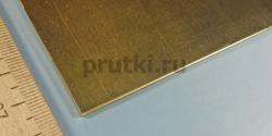 Лист латунный ЛС59-1, толщина 2 мм