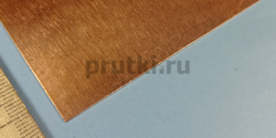 Лист медный М1, толщина 0.5 мм