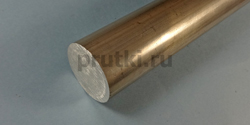 Пруток алюминиевый В95Т1, диаметр 25 мм