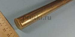 Пруток бронзовый БрАЖ9-4, диаметр 20 мм