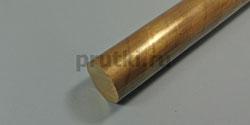 Пруток бронзовый БрАЖ9-4, диаметр 70 мм