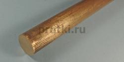 Пруток бронзовый БрБ2, диаметр 22 мм