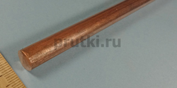Пруток бронзовый БрХ1, диаметр 10 мм