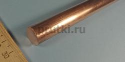 Пруток бронзовый БрХ1, диаметр 16 мм