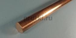 Пруток бронзовый БрХ1, диаметр 20 мм