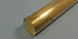Пруток латунный ЛС59-1, диаметр 100 мм