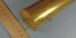 Пруток латунный ЛС59-1, диаметр 50 мм