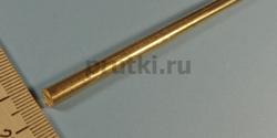 Пруток латунный ЛС59-1, диаметр 6 мм