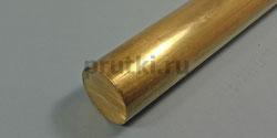 Пруток латунный ЛС59-1, диаметр 60 мм
