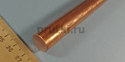 Пруток медный М1, диаметр 16 мм