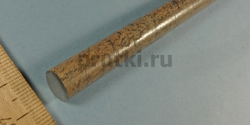 Пруток титановый ВТ1-0, диаметр 10 мм
