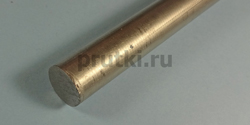 Пруток титановый ВТ1-0, диаметр 28 мм