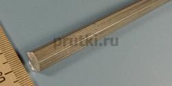 Шестигранник алюминиевый Д16Т, размер 10 мм
