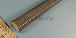 Шестигранник алюминиевый Д16Т, размер 14 мм