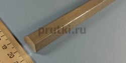 Шестигранник алюминиевый Д16Т, размер 17 мм