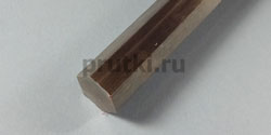 Шестигранник нержавеющий AISI 304, размер 22 мм