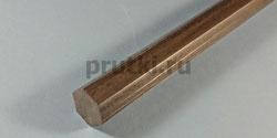 Шестигранник стальной Ст45, размер 17 мм