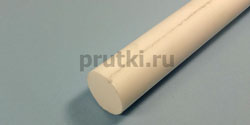 Стержень фторопластовый Ф-4, диаметр 40 мм