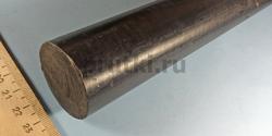 Стержень капролоновый графитонаполненный, диаметр 40 мм