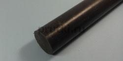 Стержень капролоновый графитонаполненный, диаметр 70 мм
