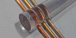 Стержень поликарбонатный, диаметр 50 мм