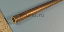 Труба латунная Л63, диаметр 10 × 2 мм