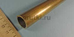 Труба латунная Л63, диаметр 22 × 2 мм