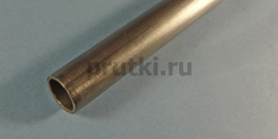 Труба титановая ВТ1-0, диаметр 6 × 1 мм