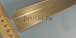 Уголок алюминиевый Д16Т (410081), размер 30 × 30 × 3 мм