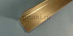 Уголок алюминиевый Д16Т (410121), размер 40 × 40 × 4 мм
